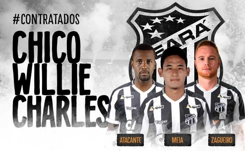 768e385694 Ceará anuncia a contratação de mais três reforços Ceará Sporting ...