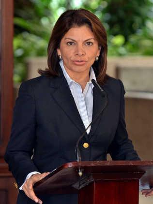 LAURA CHINCHILLA PRESIDENTE