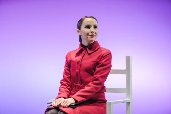 Débora Falabella no palco