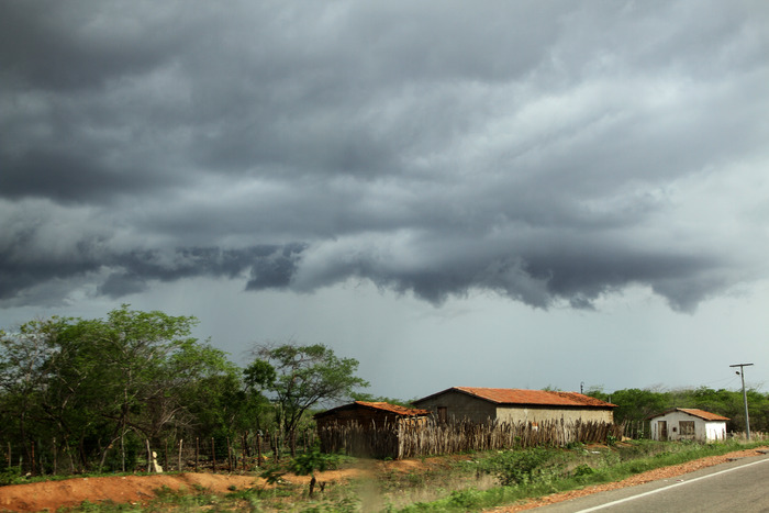 Céu Nublado em Jaguaribara