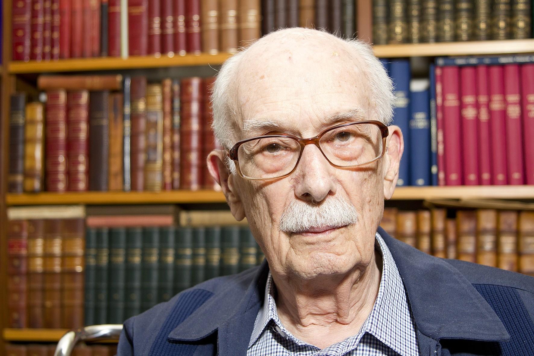 Crítico literário e sociólogo Antonio Candido