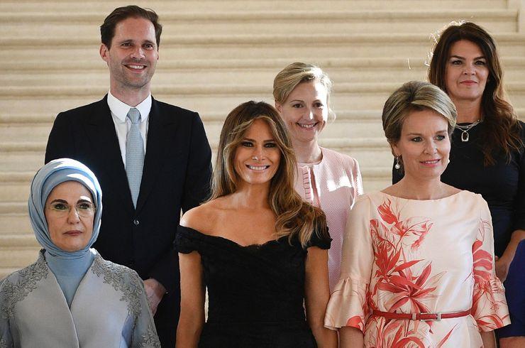 Tradicional foto das primeiras-damas apresenta o