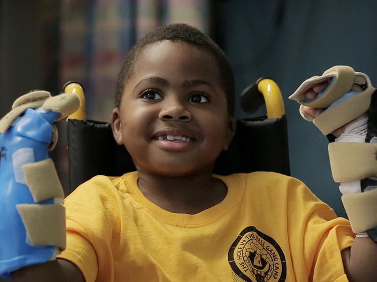 Zion Harvey, de 10 anos