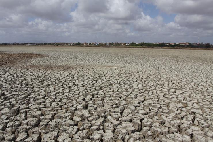 Cenário de seca no Interior do Ceará