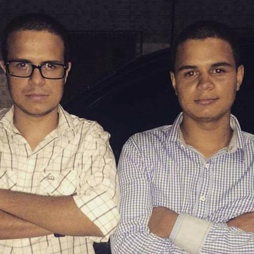 Os irmãos Hallef e Alex