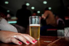 Um copo de cerveja