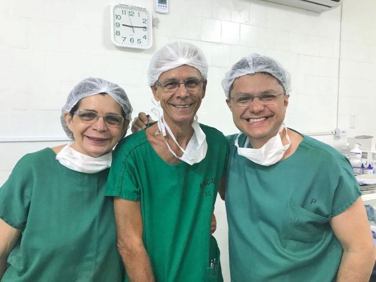 Zenilda Bruno, Edmar Maciel e Leonardo Bezerra