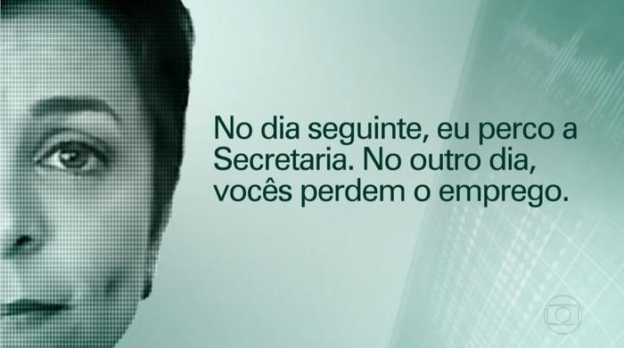 Em gravação de 2014, Cristiane Brasil ameaça servidores, mostra TV Globo
