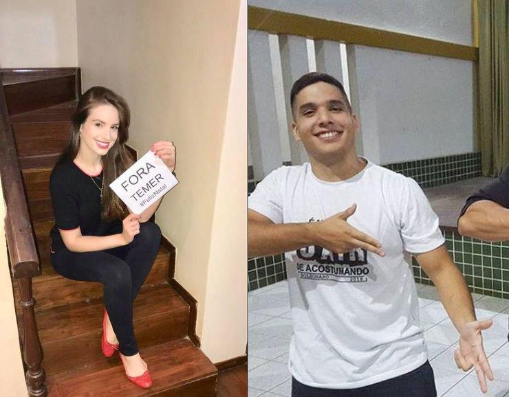 Patrícia Lélis e André Fernandes