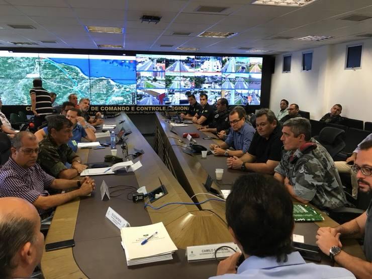Grupo do governo discute efeitos da greve dos caminhoneiros