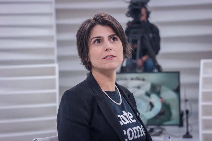 Manuela D'Ávila no Roda Viva