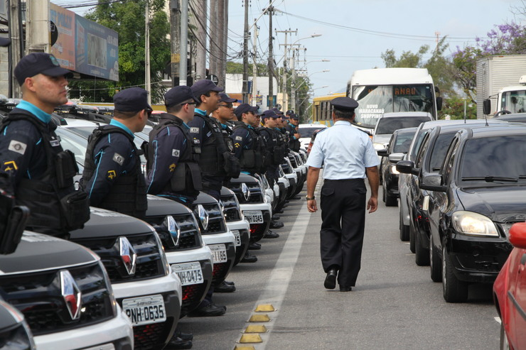 102 novas viaturas são entregues pela SSPDS