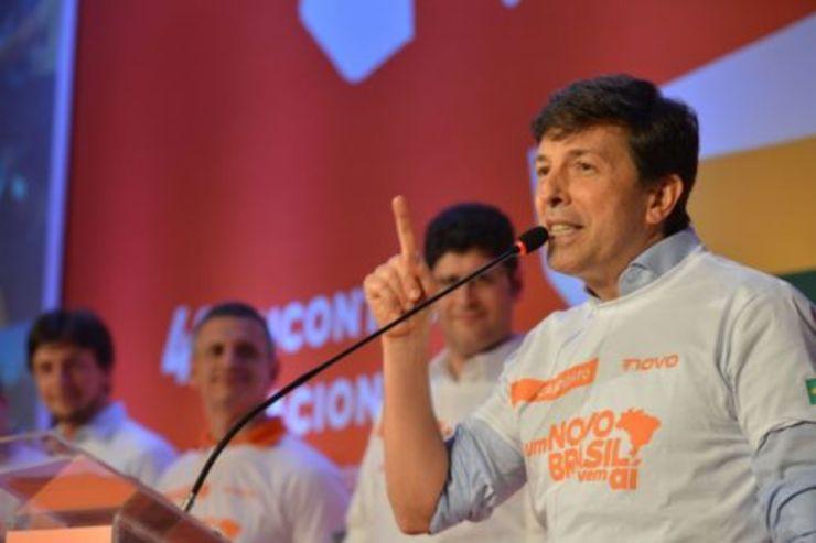 Amoêdo desiste de ser candidato a presidente pelo Novo  (Foto: divulgação )