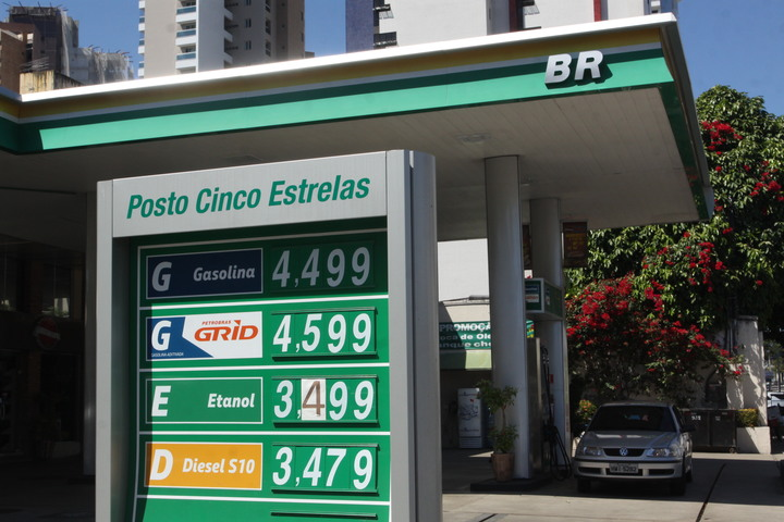O posto com litro da gasolina mais caro (Foto: )