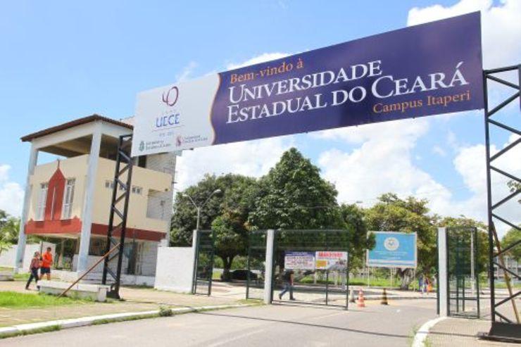 Entrada da Universidade Estadual do Ceará campus Itaperi