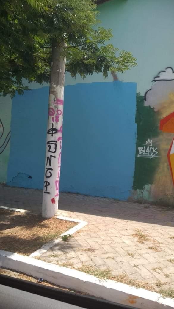 Arte urbana apagada