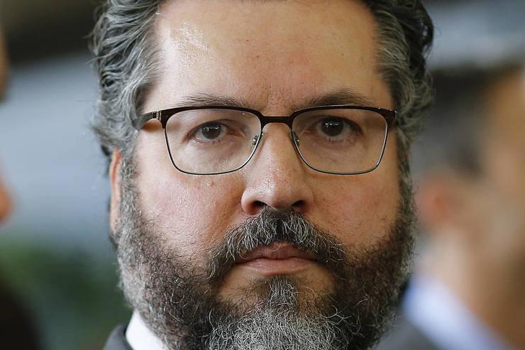 Rosto do futuro ministro das Relações Exteriores Ernesto Araújo (Foto: )