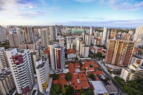 vista da cidade de Fortaleza