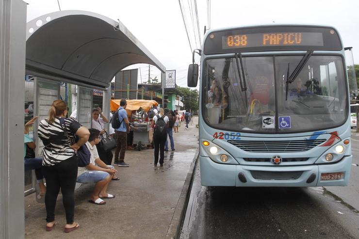 ônibus em Fortaleza